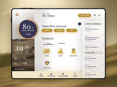 Sales Tablet App