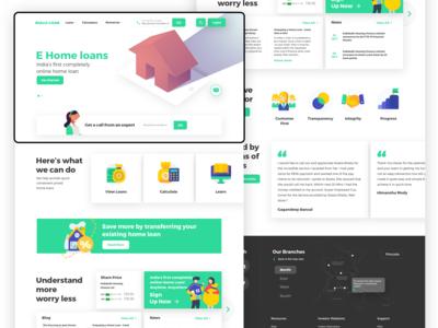 E-home Loan Website
