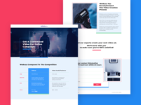 Landing Page for WeBuzz