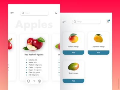 Grocery App challenge