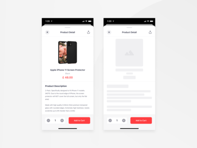 Bringova - Product Detail design app electronic grocery modal stack e commerce food delivery bottom sheet add to cart product detail product page product design native app card stack ios user experience iphone x mobile app ux ui design
