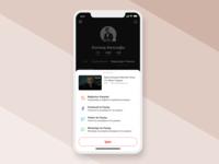 Profile > Liked Videos - Share Bottom Sheet