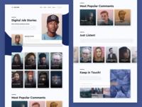 Digital Job Stories - Podcast Landing Page