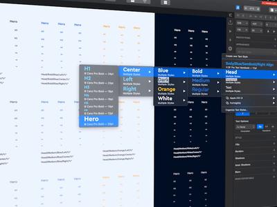 Work in Progress - Creating a Design Guideline
