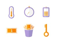 Fitness Class Icons