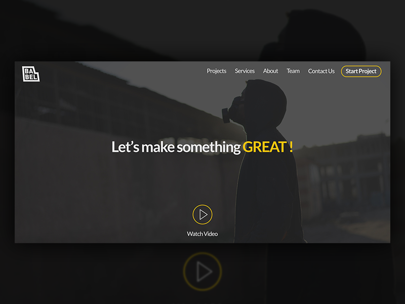 Babel babel screen mobile ux ui app production media