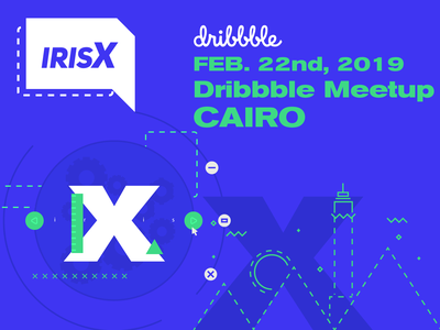 Cairo Dribbble Meetup design babel 2d networking event cairo meetup ux ui