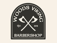 Woods Viking Apparel Design