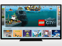 Lego apple tv home large