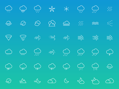 Funny or Die Weather - Custom Icons humor app weather mobile ios apple