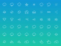 Funny or Die Weather - Custom Icons