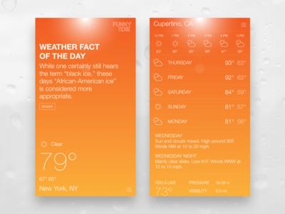 Funny or Die Weather humor app weather mobile ios apple