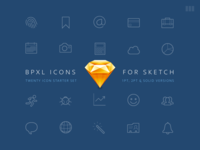 BPXL Icons for Sketch