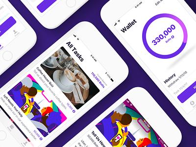Storm Mobile App Design iphone development design android mobile ios