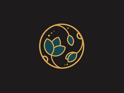 Logo branding flowers flower logo illustration