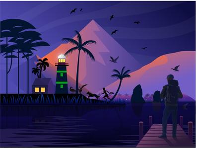Island Point Lighthouse