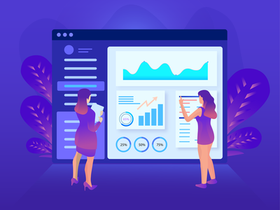 Work Procces crypto exchange design seo graph charackter analytics data analytics infograpich finance isometric business illustration