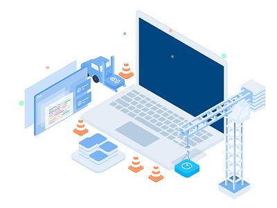 Apps builder plathform infograpich finance blockchain bitcoin vector crypto exchange analytics charackter data data analytics isometric business illustration