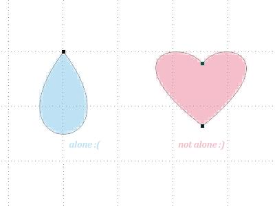 Points Love vector event mnml love