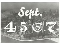 Sept. 4 5 6 7