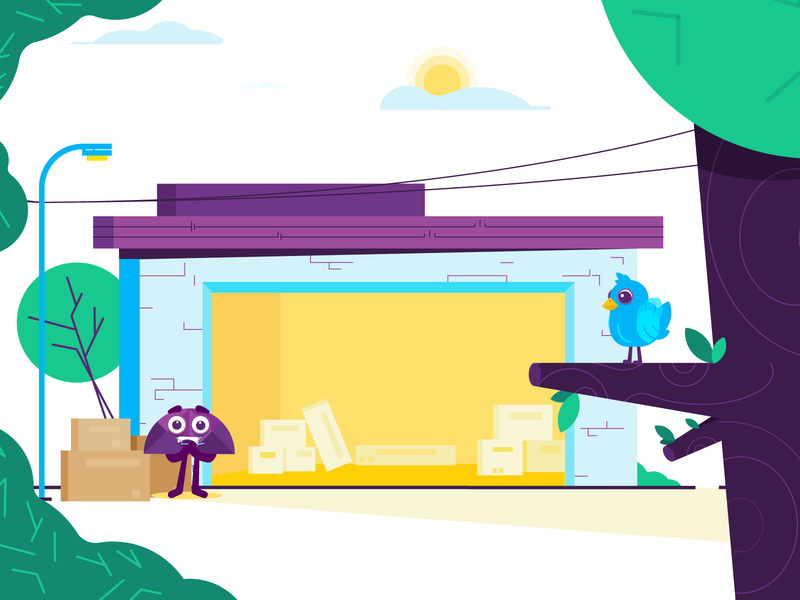twitter bird branding excited happy expressions character design 2d abstract illustration flat