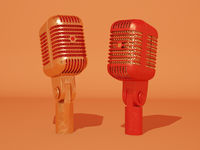 Day 1: Unidyne Microphone