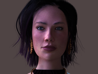 Violet: CGI Character