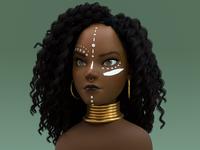 Bakiza | 3D Stylized Character