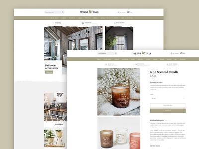 Wrens Tale - Website website design web design webdesign website illustration branding design limely