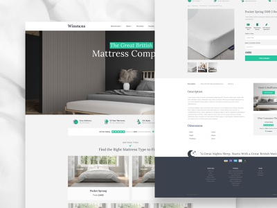 Winstons site web logo web design website branding design limely