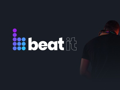 Beat It - Client Brand Work icon logo design logo branding design limely