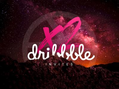 Dribbble Invites x 2 - Closes 1 Dec 2017
