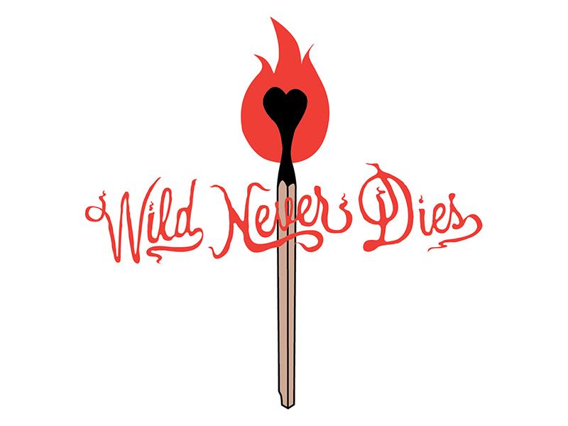 Wild Never Dies blog logo logo designer branding austin graphic designer austin designer logo