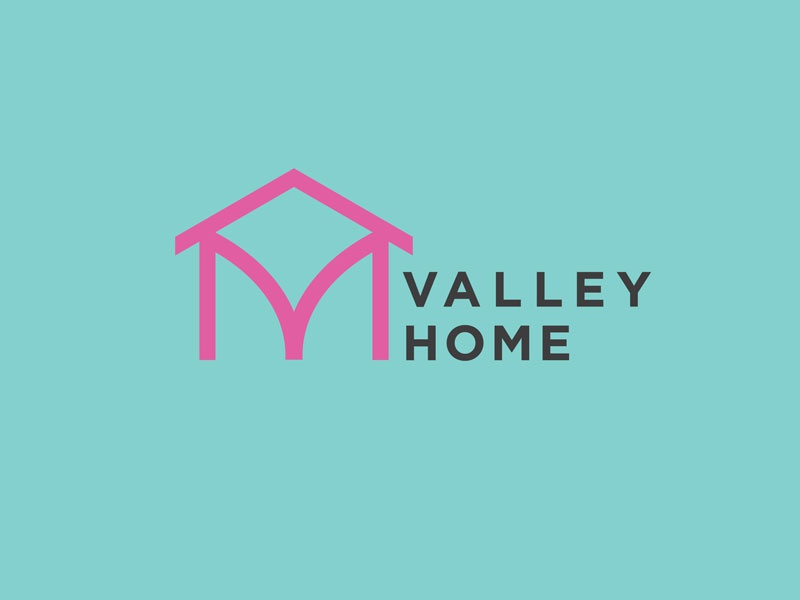 Valley Home logo mark magazine design austin design mark icon branding logo austin designer
