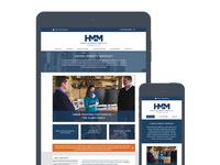 Responsive New Site - Hurley McKenna & Mertz (HM&M)