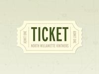 North Willamette Vintners Ticket