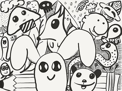 Doodle mind farth doodle paper 51 ipad pro