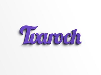 Wallpaper Tvaroch logo tvaroch 3dprint 3dtlac shadow type text wallpaper free