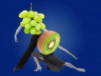El Tango del Kiwi y la Uva