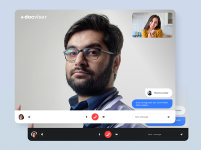 Live Video Meetings graphic design figma theme ui ux user interface user experience