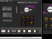 App Press Layout Editor