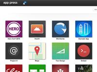 App Press Dashboard
