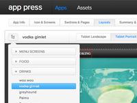 App Press Dropdown2