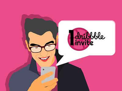 Dribbble invite invite