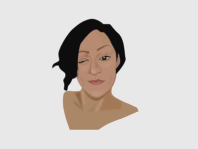 My experiment girl illustration