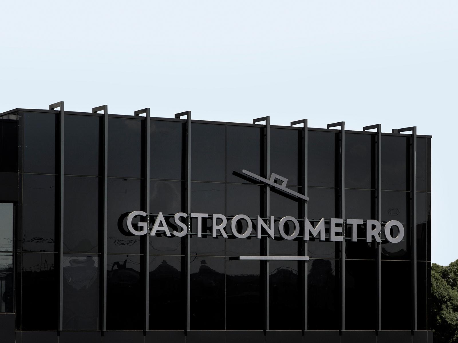 Gastronometro Branding typography line kitchen illustration icon gastronomy food design culinary chef branding logo