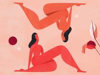 """Mirror"" - Personal Illustration Series"