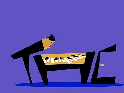 WIP! New Work for a fabulous music org adobe illustrator charactedesign artwork agency branding illustrator illustration art editorial art visual content digital artist illustration
