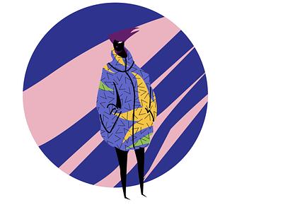 Fashionista 01 adobe illustrator visual content agency branding illustrator illustration art charactedesign editorial art fashion illustration style fashion digital artist illustration