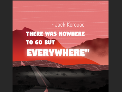 THERE WAS NO WHERE TO GO BUT EVERYWHERE artwork panorama background artist storytelling editorial art illustration art design art digital artist visual content illustration